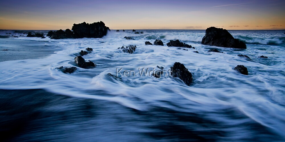 Time drifts by by Ken Wright