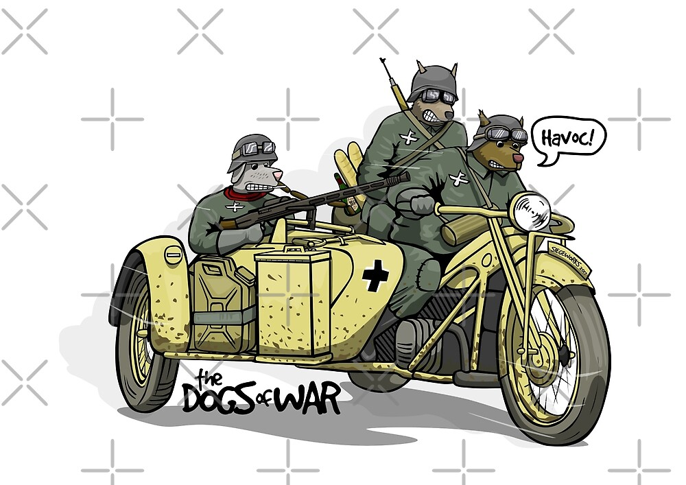 The Dogs of War: Zundapp ks750 by Chris Jackson