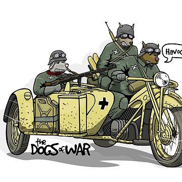 The Dogs of War: Zundapp ks750 by siege103