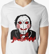 Jigsaw Men's V-Neck T-Shirt