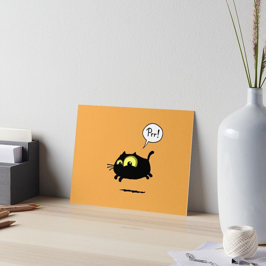 Prr! Art Board Print