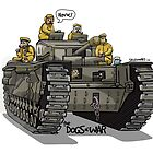 The Dogs of War: Churchill Tank by Chris Jackson