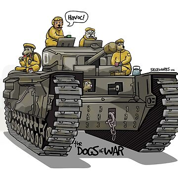 The Dogs of War: Churchill Tank by siege103