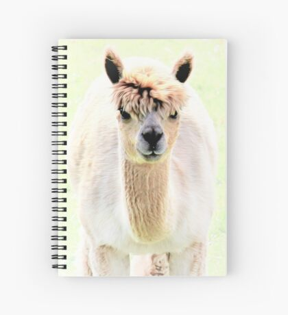 Sweet alpaca Spiral Notebook