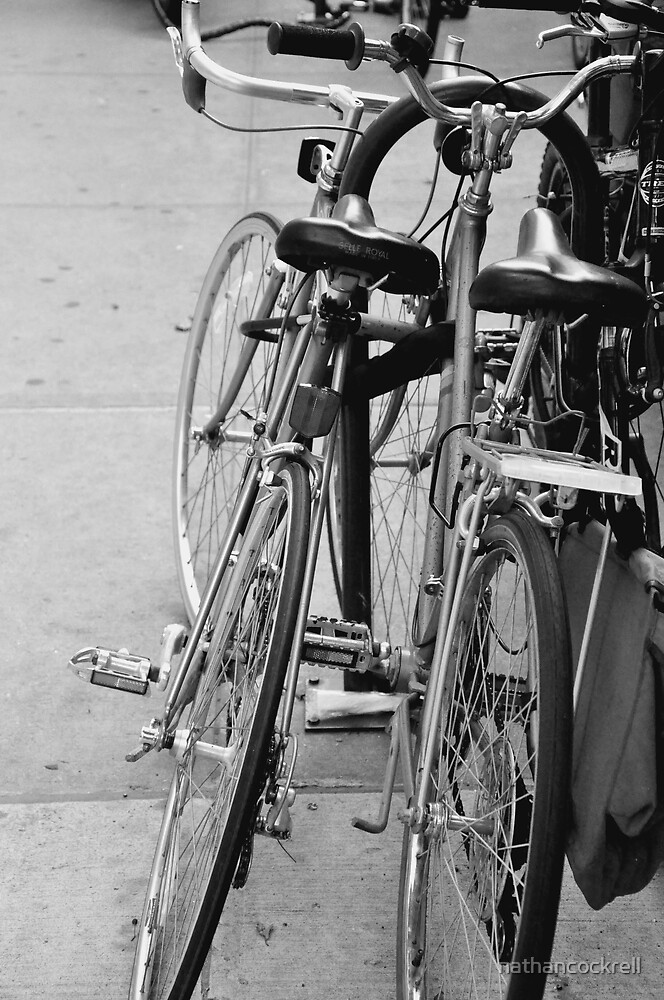 Bicycle Pair, New York by nathancockrell