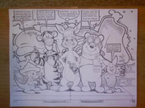 Cartoon Crazy. by epdoe