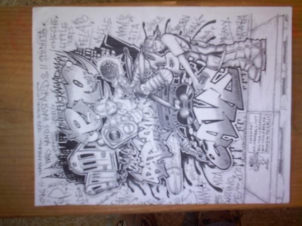 BadLandz,Graphic. by epdoe