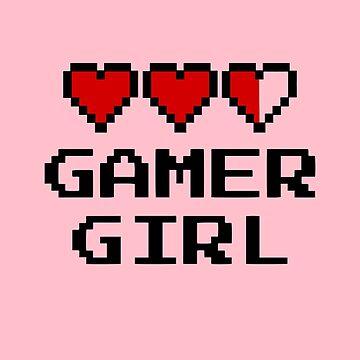Gamer Girl by fromherotozero