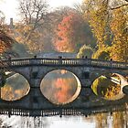 Clare College and King's College Bridges by Ana Andres-Arroyo