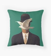 Rene Magritte Mania Throw Pillow