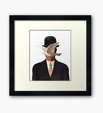 Rene Magritte Mania Framed Print