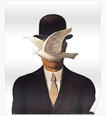 Póster Rene Magritte Mania
