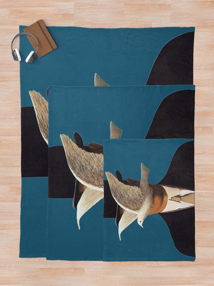 Alternative Ansicht von Rene Magritte Mania Fleecedecke