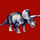 Triceratops by Rose Gerard