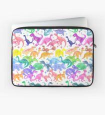 Roarsome Rainbow Dinosaur Alphabet Laptop Sleeve