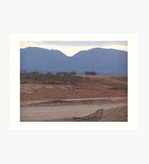 Flinders Ranges Art Print
