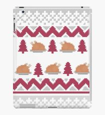 Knitted Chicken Red 2 iPad Case/Skin
