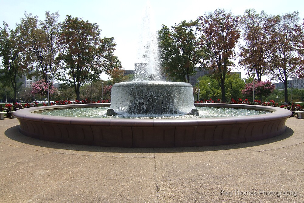 The Fountain by Ken Thomas Photography