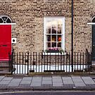Red and grey doors by Ana Andres-Arroyo