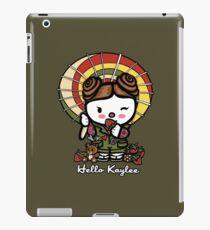 Hello Kaylee Winks iPad Case/Skin