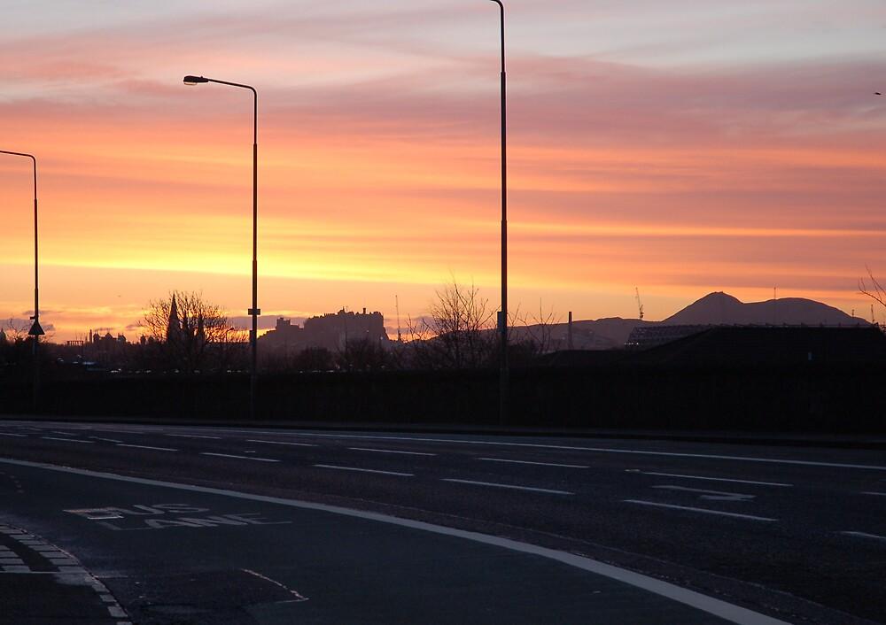 Edinburgh Sunrise by kennydavisbros