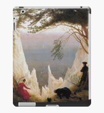 Chalk Cliffs on Rügen, Caspar David Friedrich iPad Case/Skin