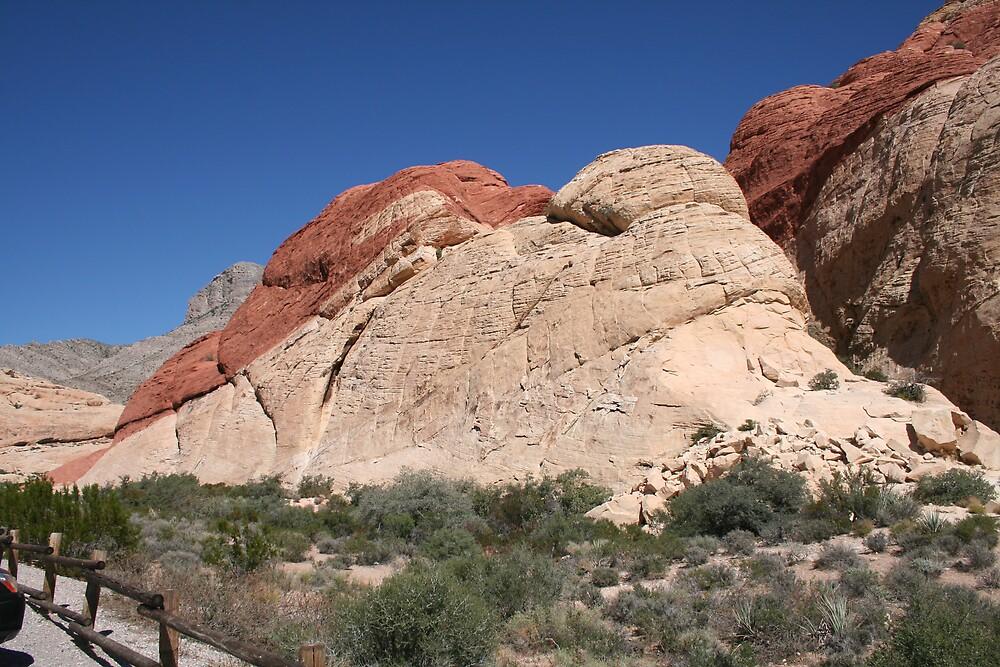 Red Rock Canyon, Nevada - 4 by Ilan Cohen