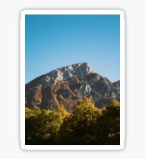 Mountains in the background XXV Sticker