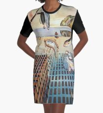 The Disintegration of the Persistence of Memory-Salvador Dalí Graphic T-Shirt Dress