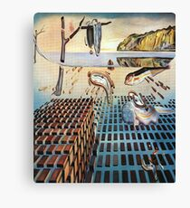 The Disintegration of the Persistence of Memory-Salvador Dalí Canvas Print
