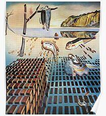 Die Desintegration des Beharrens des Gedächtnisses - Salvador Dalí Poster