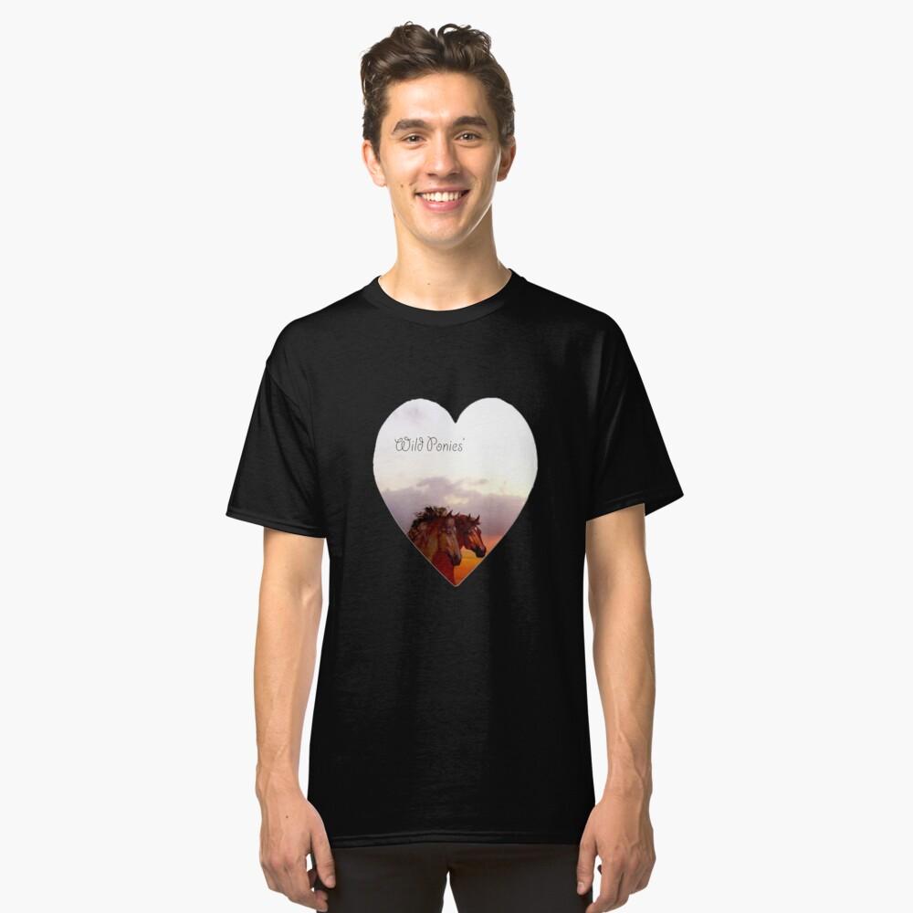 Wild ponies  Classic T-Shirt