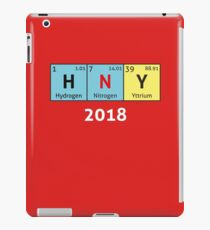Geeky Happy New Year - Chemical Elements iPad Case/Skin