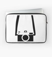 Black and White Camera  Laptop Sleeve