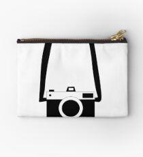 Black and White Camera  Studio Pouch