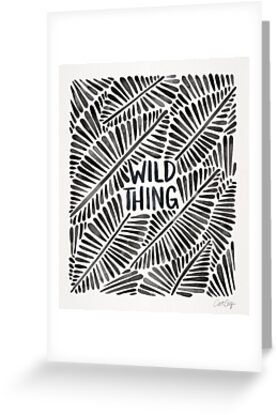 Wild Thing – Black Palette by Cat Coquillette
