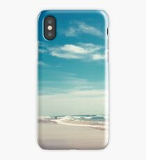 The swimmer iPhone Case/Skin