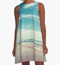The swimmer A-Line Dress