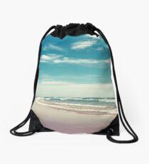 The swimmer Drawstring Bag