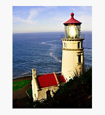 Oregon - Light Streaming Photographic Print