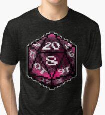 Red D20 Tri-blend T-Shirt