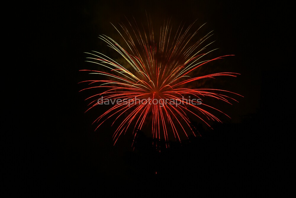 Fire Works Night by davesphotographics