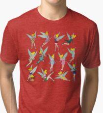 Princesses tinkerbell Tri-blend T-Shirt