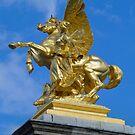 Alexander III Bridge - Paris by Anatoliy