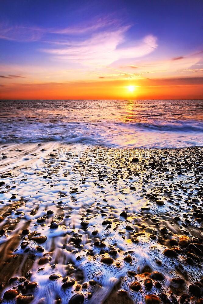 Thorpeness Beach Suffolk 4. by Wayne Bradshaw