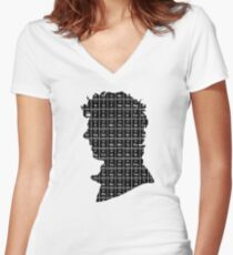 Elementary...2 Women's Fitted V-Neck T-Shirt
