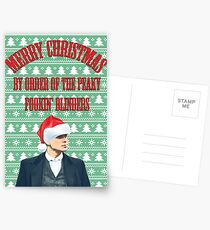 A Peaky Christmas Postcards