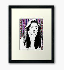 Meryl Streep is more hip than you. Framed Print