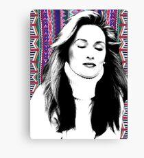 Meryl Streep is more hip than you. Canvas Print
