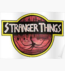 StrangerThings by FLDillustration Jurassic Park Poster